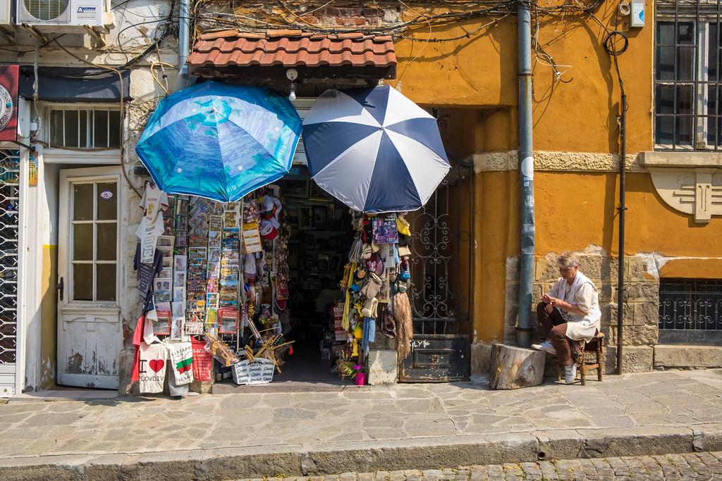 Shopkeeper, Plovidiv, Bulgaria