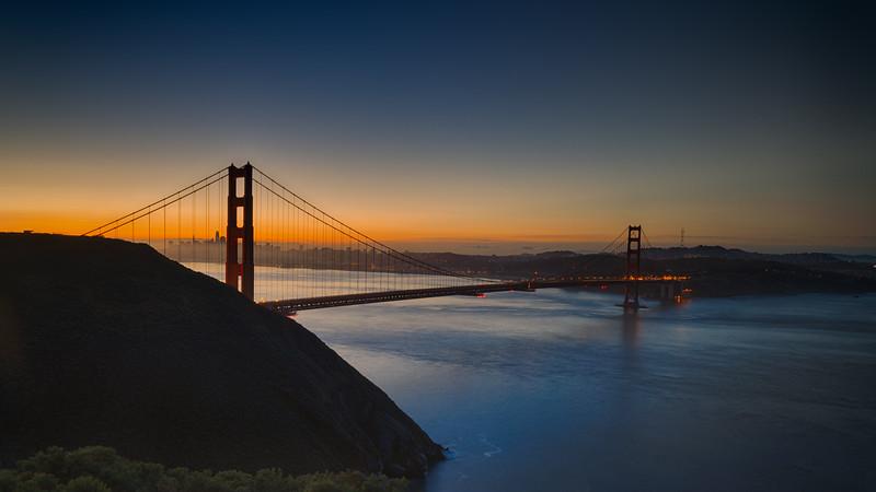 Golden Gate Sunrise March 2021