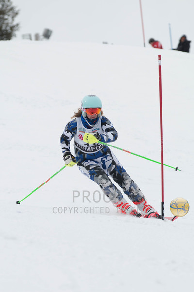 Girls Slalom 2nd Run