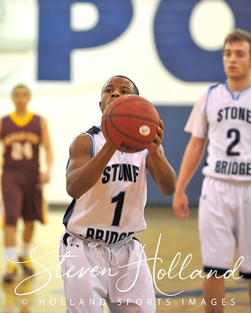 Battle of Asburn Basketball Tournament - Stone Bridge vs Broad Run 12.29.2012 (By Steven Holland)