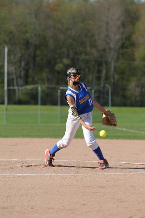 2015 Alden JV Softball vs Amherst