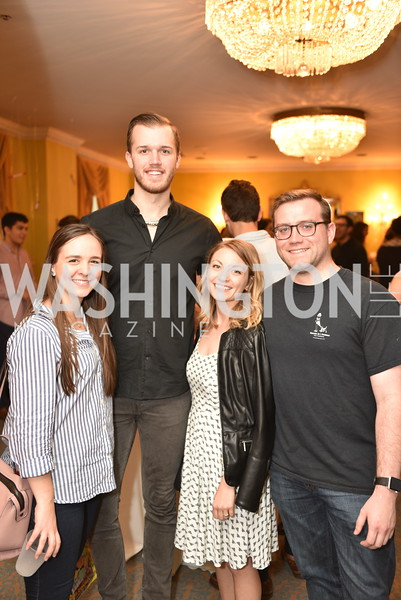 Sarah Boorom, Hayden Cox, Olivia Weaver, Robby Fetchko, Young Patrons at the National Theatre, The Waitress, June 3, 2018 -9074.JPG