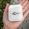 .90ct Late Victorian Antique Cushion Cut Collet Component 1