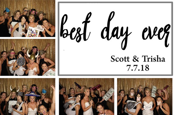 Scott & Trisha Wedding - 7.7.18 - Photo Strips