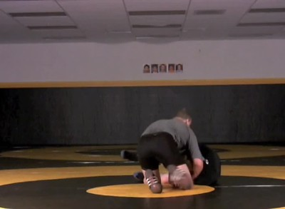 Standing Cradle drill from front headlock