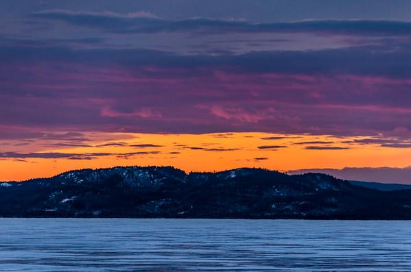 Ice Walk Lake Champlain Mar 9
