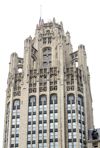The wonderfully Gothic Tribune Building
