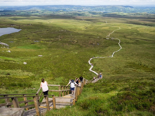 Stairway to Heaven - the Cuilcagh Trail (July 2019)