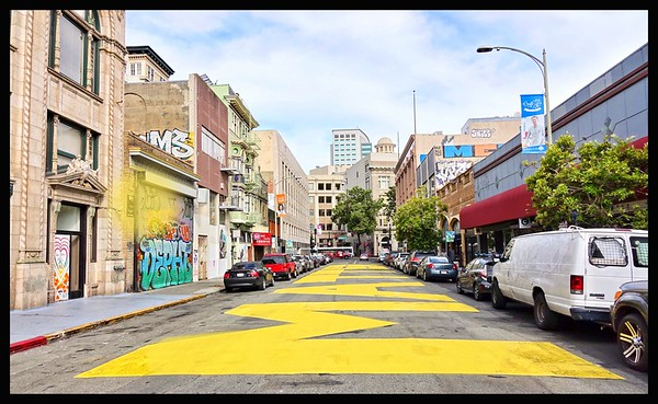 Artist in Oakland #BLack Lives Matter