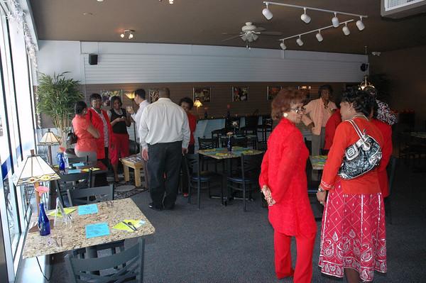 Joan Minor Deltas Reception May 9, 2008