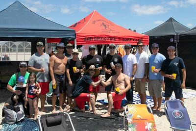 SD Fireman Olympics Surf Contest 06-26-2019