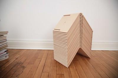 L Shelf is a clever modular storage component, created by designer Aurélien Veyrat of Objet Optimisé