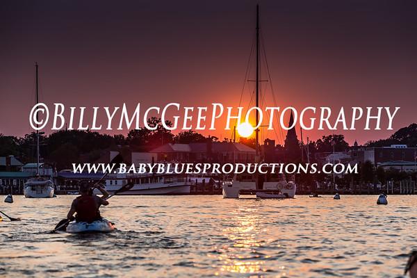 Kayak Annapolis Sunset Tour - 16 Aug 12