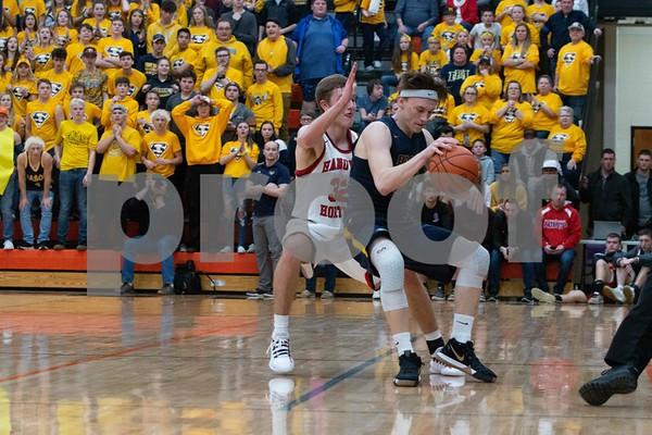 3-12-19 Hanover-Horton vs Erie-Mason Boys Basketball Quarterfinal