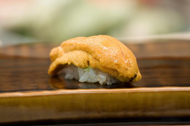 Course #10: Sushi Sushi #11: Sea Urchin (uni)