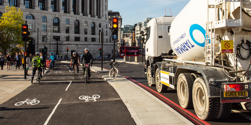 Blackfriars Cycle Superhighway