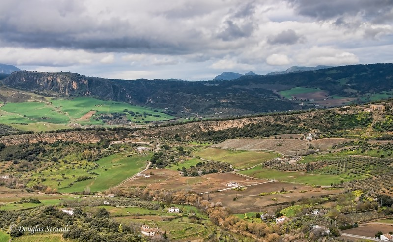 Mon 3/14 in Ronda: Fields, Mountains and Clouds