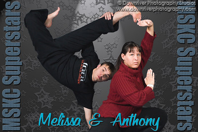 Melissa and Anthony poster