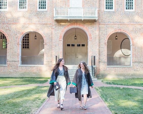 Kat & Elizabeth Grad Photos