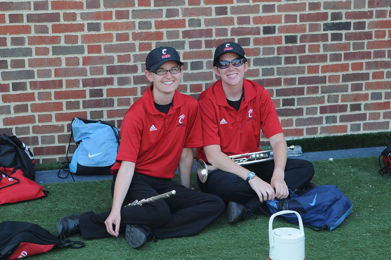 UC Marching Band, Band Camp, Nippert Stadium, Cincinnati, OH