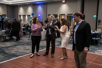 Blue Yarmulke Man of the Year Gala May 2017