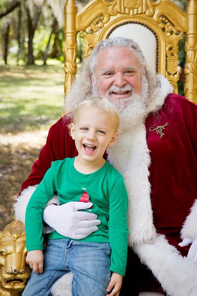 Santa Minis 2018: Benjamin and Family!