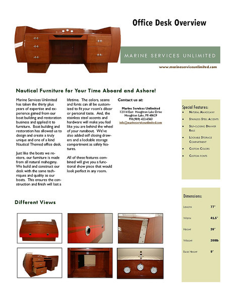 Nautical Desk Overview