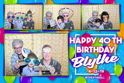 Alderman Birthday Party Photobooth 4.12.2019