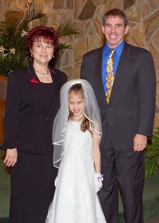 Katrina's First Communion - May 5, 2012