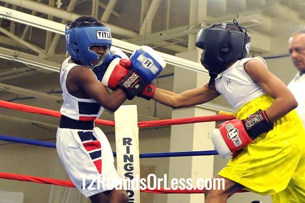 Bout 5  Jayson Johnson -vs- Ja'kel Blackwell, Junior, 85 lbs.