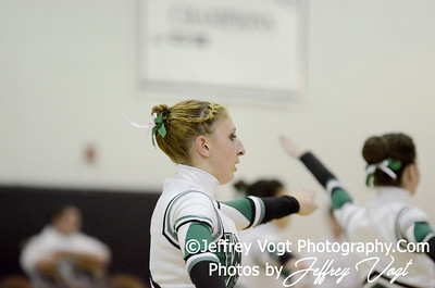 01-05-2013 Walter Johnson HS Poms at Northwest HS Competition, Photos by Jeffrey Vogt Photography
