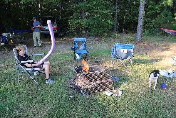 Back Lake Camping September 2015