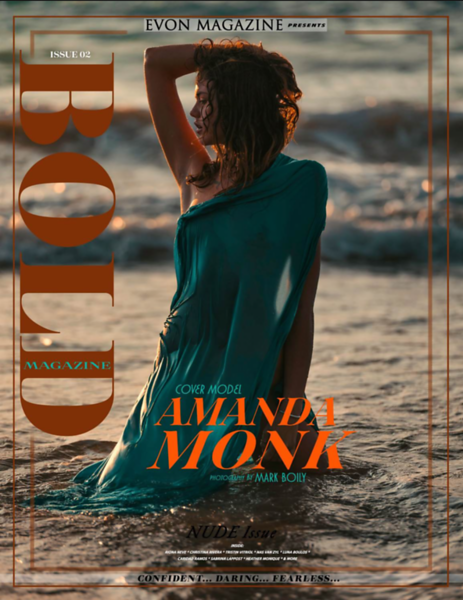 EVON Magazine | COVER | Nude Issue | Nov 2018 | Amanda Moak https://www.evonmodeling.com