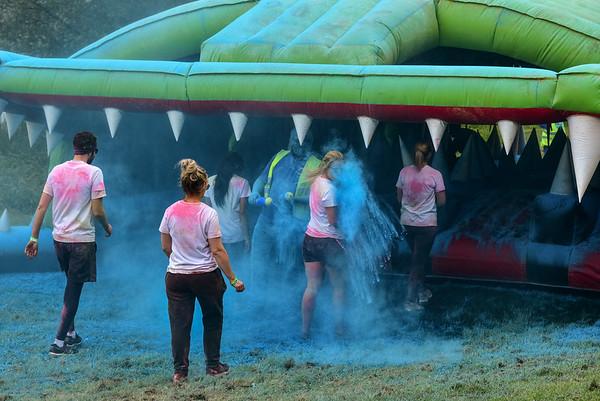 Colour Run - Willen Lake