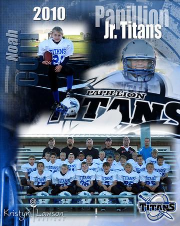 Junior Titans Football 2010