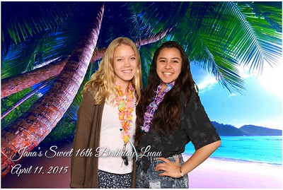 Jana's 16th Birthday Luau
