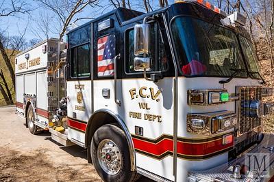 03-21-21 Conesville FD - House Fire