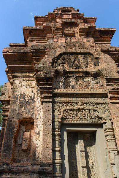 PREAH KO. Hindu temple built in the late 9th century.