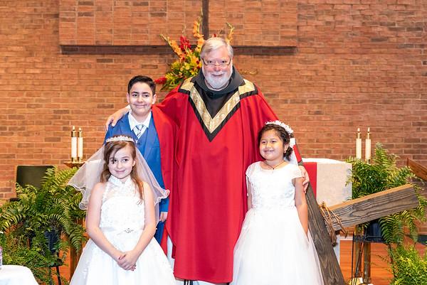 2021-05-23 St. Anne 1st Communion