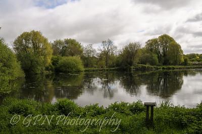Rooksbury Mill Lake - May 2013