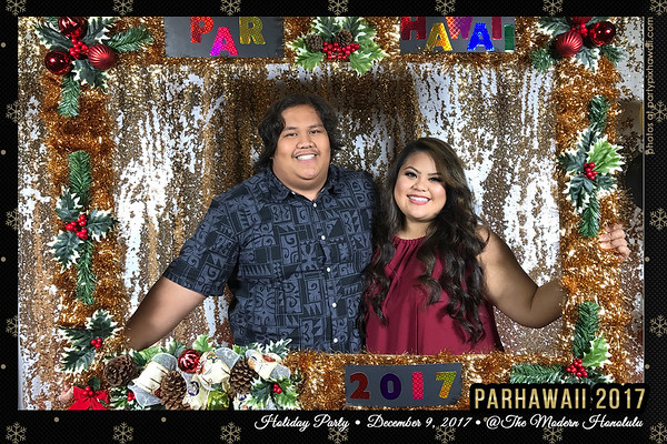 Par Hawaii 2017 Christmas (Mobile Party Pix)