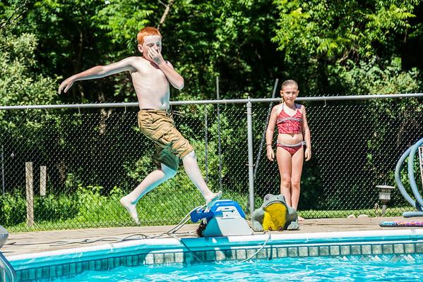Jason and kids visit July 4th 2014