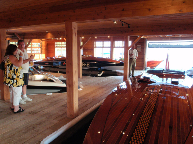 In the Boathouse