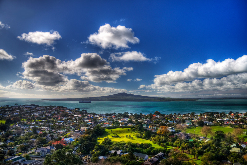 Rangitoto Island: Auckland, New Zealand (HDR)