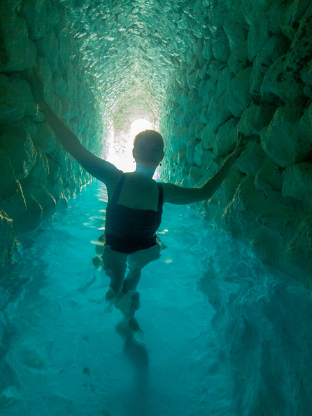 La Gruta Hot Springs, the cave