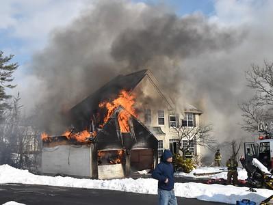 House Fire - 508 King Rd, Perkiomen Twp, PA - 2/20/21