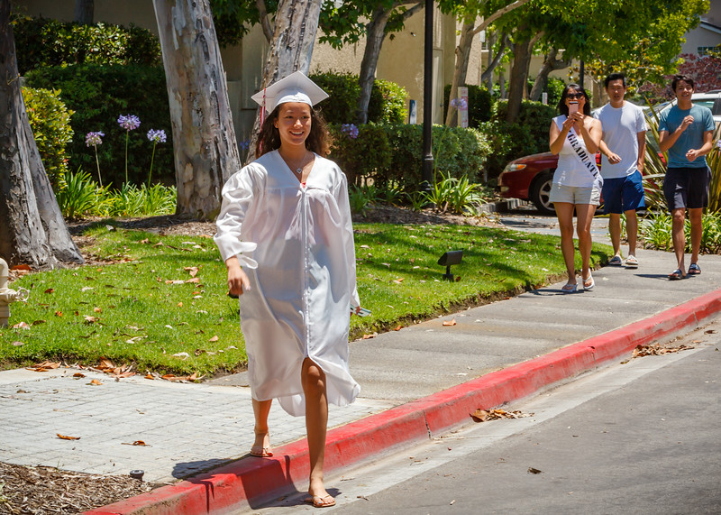 2020 06/11: Jacqueline's Socially Distanced Graduation