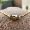 1.32ct Vintage Sapphire Bezel Necklace 2