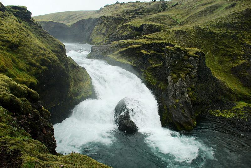 Eldfoss í Syðri-Ófæru.