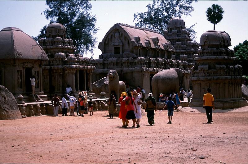 Panch Pandava Rathas, Mamallapuram
